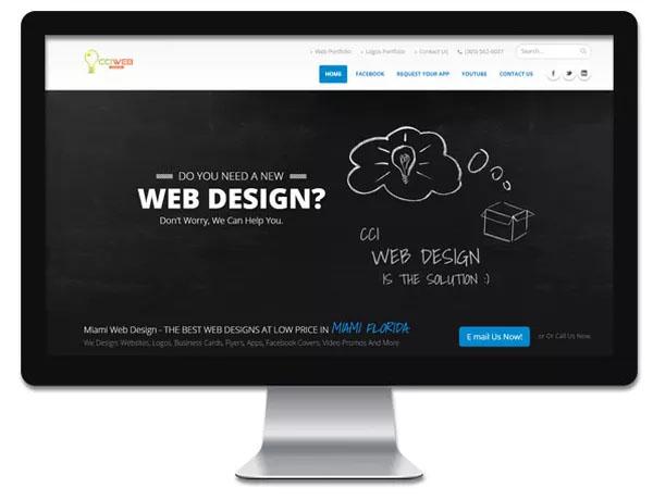 CCI Web Design at Florida Shopping Guide
