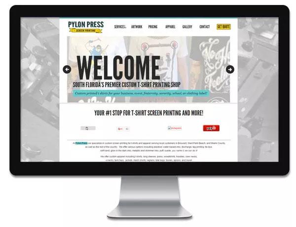 Pylon Press Screen Printing at Florida Shopping Guide