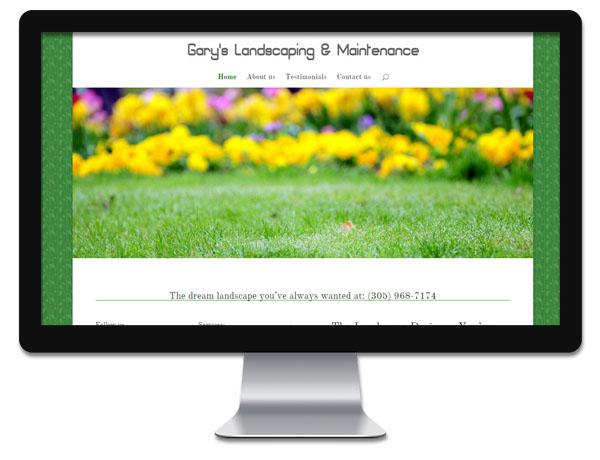 Gary's Landscaping _ Maintenance at Florida Shopping Guide