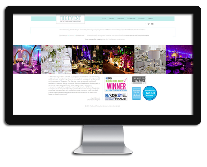 The Event Production Company at Florida Shopping Guide